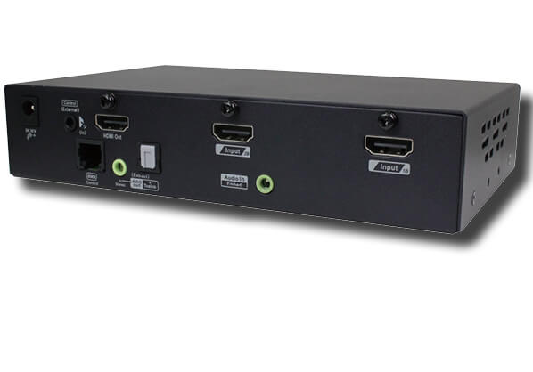 2 Ports 4K HDMI Video Switch with PIP PBP Scaler