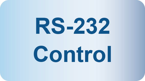 RS 232 Control