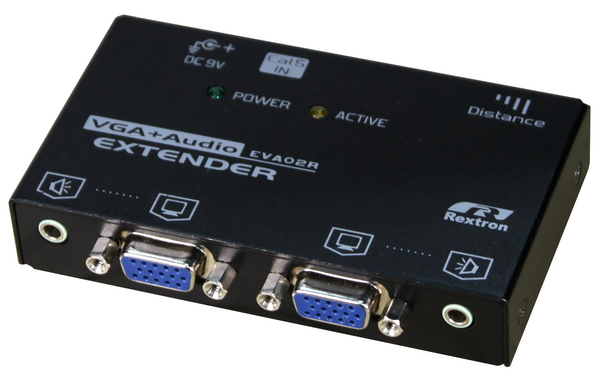 VGA Video Extender over CATx with Audio