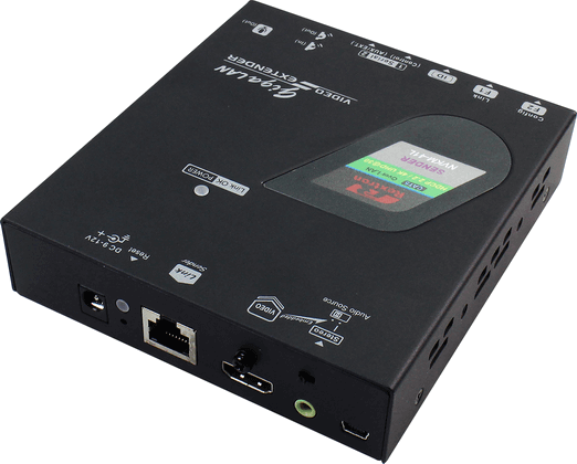 4K HDMI Video Extender over IP with Serial, IR, Transmitter