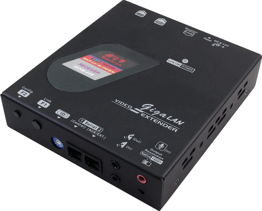 4K HDMI Video Extender over IP with Serial, IR, Receiver