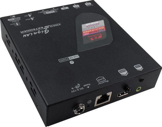 4K HDMI KVM Extender over IP with Serial USB Receiver