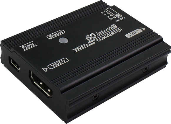 True 4K HDMI to DisplayPort Converter with Selectable HDCP