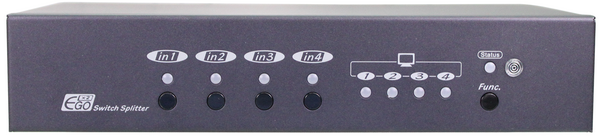 HDMI Video Extender Transmitter with 2 Ports Switch, 4 Ports Splitter, Local out, IR, Serial, 100M