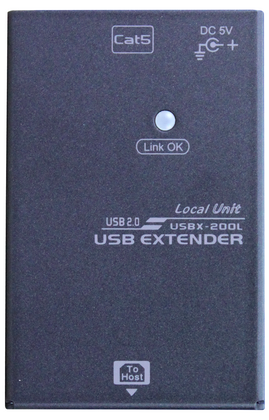 USB Extender over CAT.x with USB 2.0 4 Ports 50M