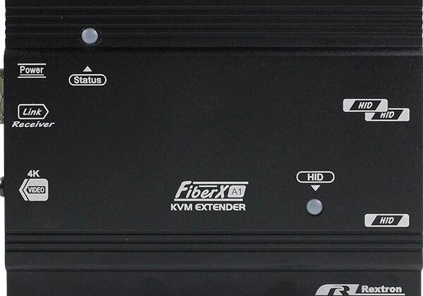 True 4K HDMI 2.0 Fiber KVM Extender over Fiber with USB and 10G SFP Module - 9