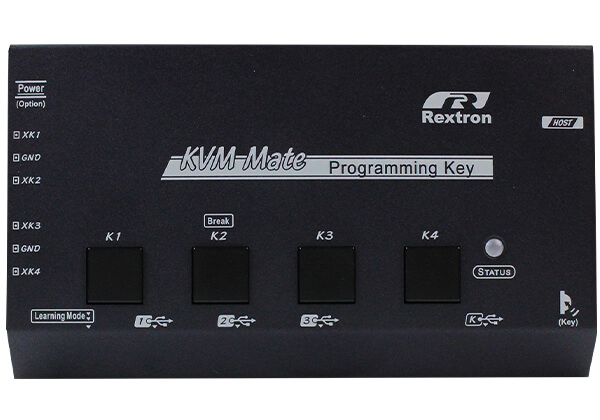 4 Key USB Programming Key with Multiple Fast Buttons