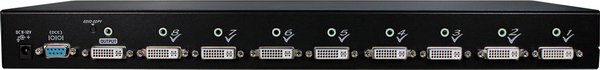 8 Ports DVI Video Switch with audio IR Serial