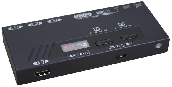 4X2 4K HDMI Video Matrix with IR Serial