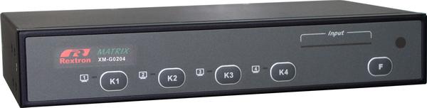 2X4 HDMI Video Matrix with IR Serial