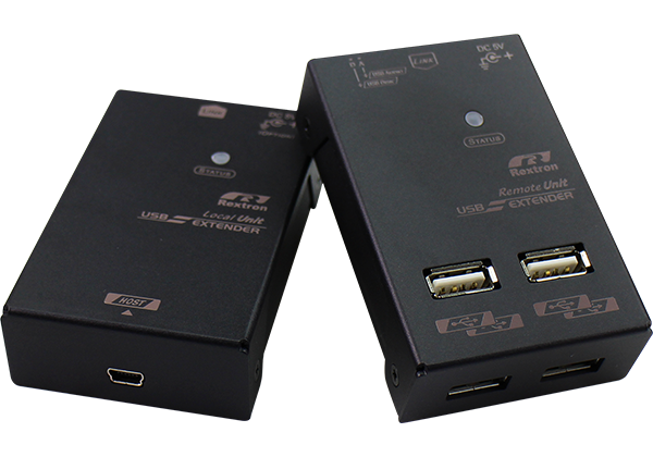 USB Extender Over CAT.x Support USB Flash Drive and 200M