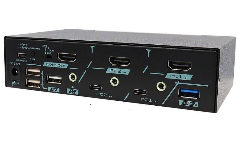 The First USB 3.2 Gen 2 HDMI 2.0 KVM Switch - MKAG-GT3112