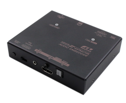 4K DVI Audio Embedder and Extractor