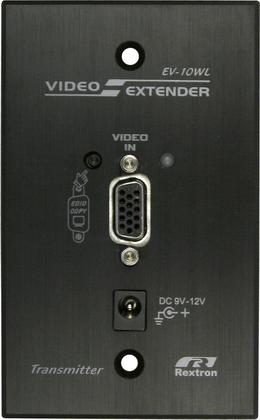 US Wall Plate VGA Video Extender Decora Type