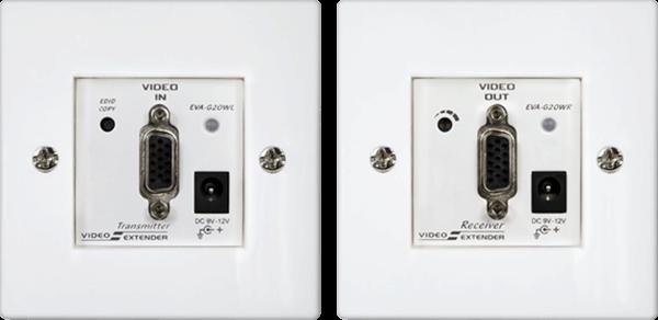 German Wall Plate VGA Video Extender