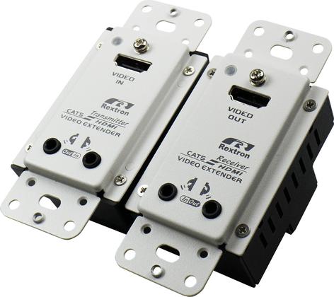US Wall Plate 4K HDMI Video Extender Transmitter with IR 70M HDBaseT Decora Type