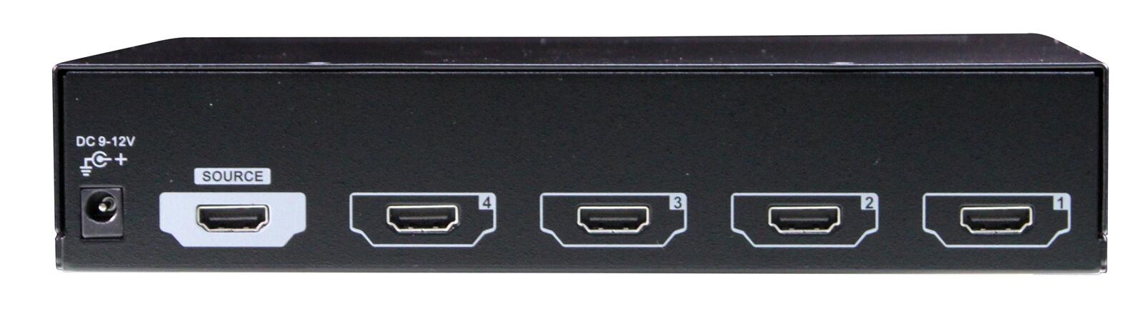 4 Ports HDMI Video Splitter