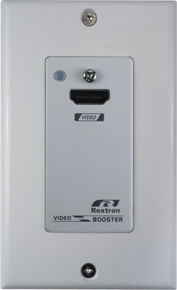 US Wall Plate 4K HDMI Video Booster, 15M