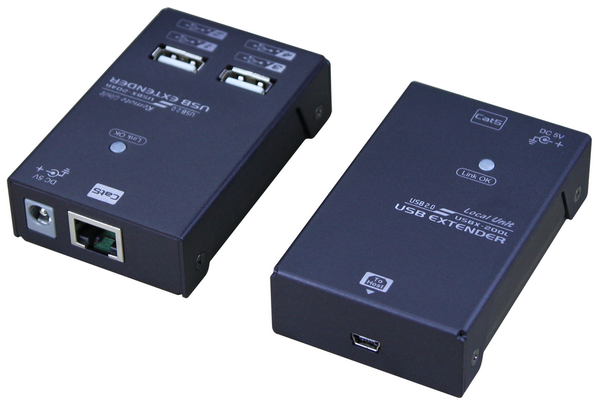 USB Extender over CAT.x with USB 2.0, 4 Ports, 50M